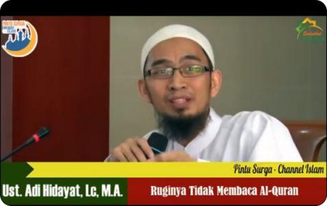 Beruntungnya Orang Yang Membaca Al-Qur'an Setiap Hari