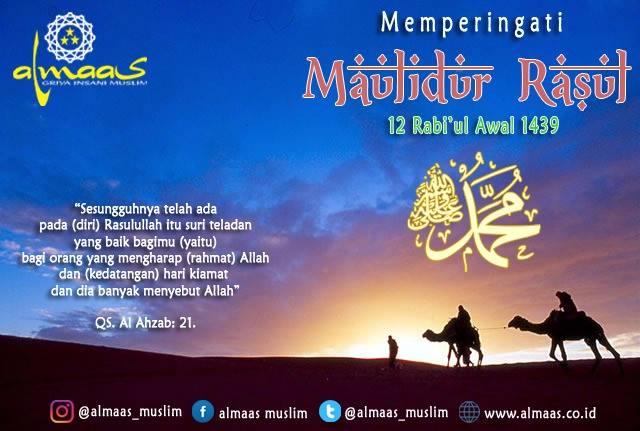 Keutamaan Maulid Nabi Muhammad SAW