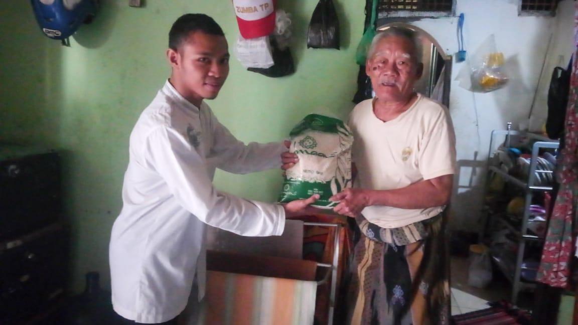 bantuan beras dhuafa