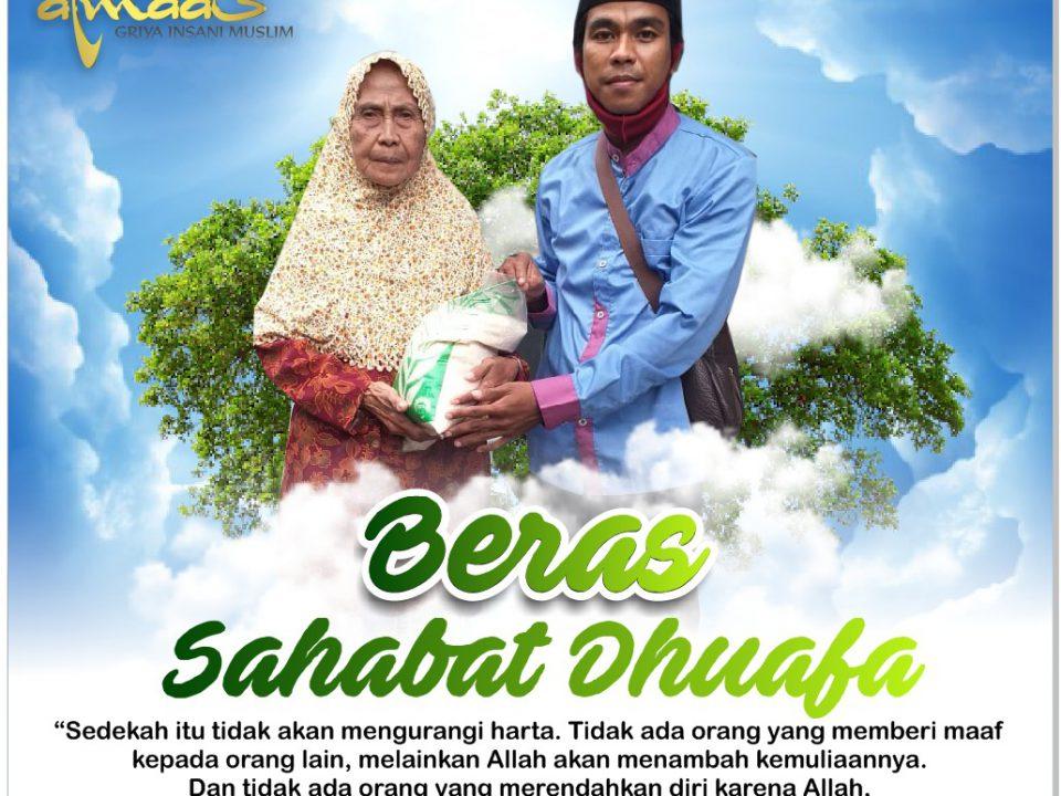 Beras Sahabat Dhuafa