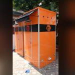 Orderan portable toilet ke Jakarta