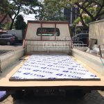 Pengambilan material PVC HD Bpk. Alimin, Jombang berjalan dengan lancar