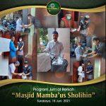 Program Jum'at Berkah Masjid Mamba'us Sholihin
